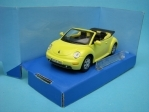 Volkswagen New Beetle Cabrio yellow 1:43 Cararama